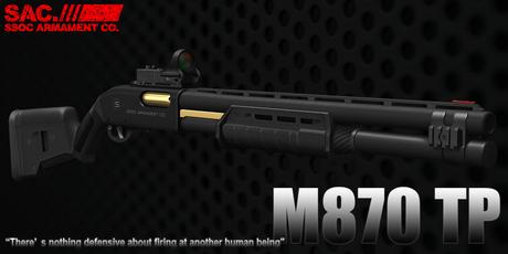 [SAC] M870 Tactical Package v2.04 Box(Wear Me!)