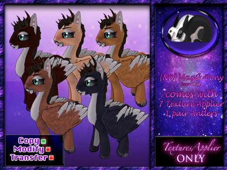 {NB} Magik Pony - skin- FATPACK!!