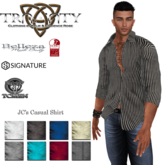 TCMen - JC's Casual Shirt (Signature Gianni/Belleza Jake/Slink Physique)