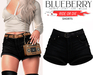 Blueberry - Ride or Die - Shorts - Black