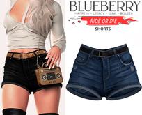 Blueberry - Ride or Die - Shorts - Darkblue