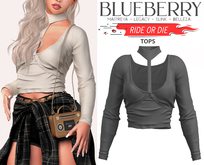 Blueberry - Ride or Die - Tops - {Extra 7}