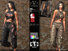 V-Twins Biker - Devyn Biker version for Maitreya, Slink and Belleza