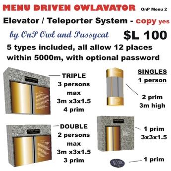 OnP Owlavator (Elevator, Teleporter)