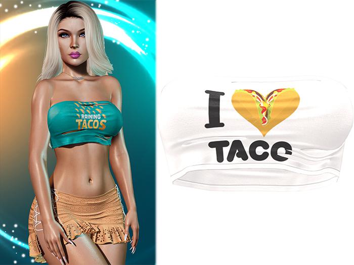 !PCP :: Anya Crop Top [Taco Heart]