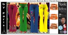 Autumn Medium Waist Flared Hippie Jeans - Maitreya Belleza Slink Tonic Legacy Alice Ebody