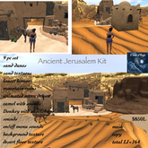 ***Ancient Jerusalem Kit-Crate