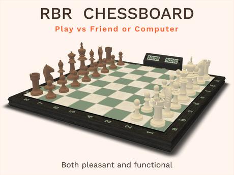 Chess board - Human & Computer