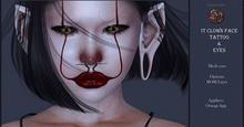 Suicide Gurls - IT Clown Face Tattoo & Eyes