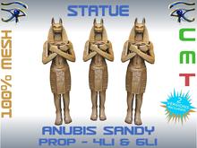 STATUE - ANUBIS SANDY