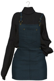 Eliya.K - Leah's Overall Outfit - Navy {AD D - ME }