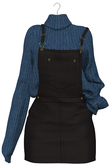 Eliya.K - Leah's Overall Outfit - Black {ADD - ME }