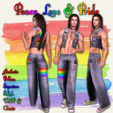 RRW ~ Peace Love & Pride ~ Rainbow Pride