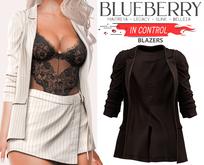 Blueberry - In Control - Blazer Jackets - Brown