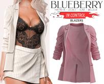 Blueberry - In Control - Blazer Jackets - Pixie