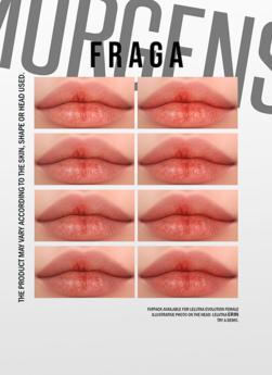 MORGENSTERN: FRAGA LIPSTICK [LELUTKA EVOLUTION FEMALE]