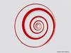 Mesh Hypnotic Spiral Logarithmic Design
