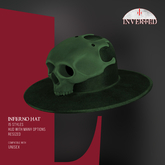 +INVERTED+ Inferno Hat -Green-