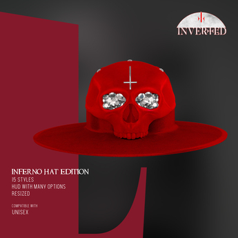 +INVERTED+ Inferno Hat EDITION -Red-