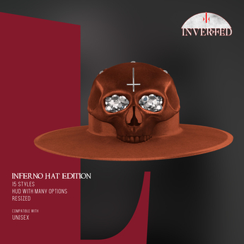 +INVERTED+ Inferno Hat EDITION -Camel-