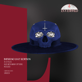 +INVERTED+ Inferno Hat EDITION -Navy-