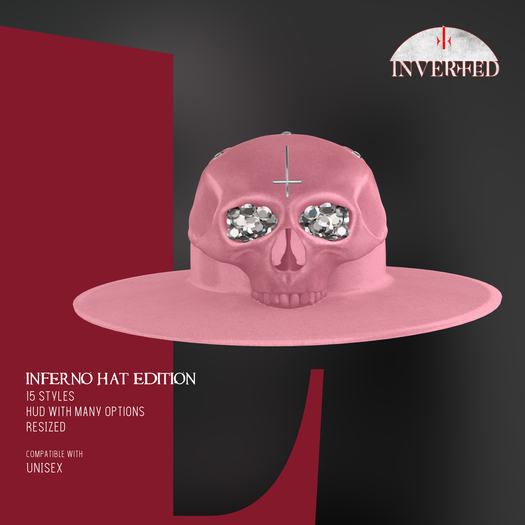 +INVERTED+ Inferno Hat EDITION -Pink-