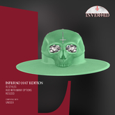 +INVERTED+ Inferno Hat EDITION -Pistacho-