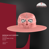 +INVERTED+ Inferno Hat EDITION -Peach-