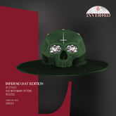 +INVERTED+ Inferno Hat EDITION -Green-