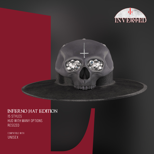 +INVERTED+ Inferno Hat EDITION -Gray-