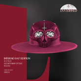 +INVERTED+ Inferno Hat EDITION -Cherry-