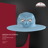 +INVERTED+ Inferno Hat EDITION -Blue-