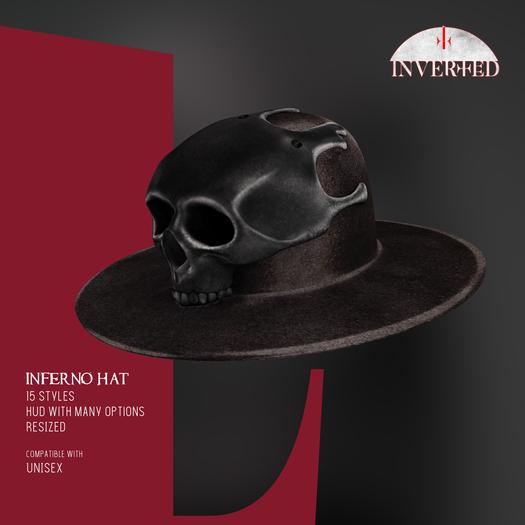 +INVERTED+ Inferno Hat -Black-