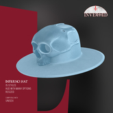 +INVERTED+ Inferno Hat -Blue-