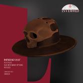 +INVERTED+ Inferno Hat -Brown-