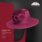 +INVERTED+ Inferno Hat -Cherry-