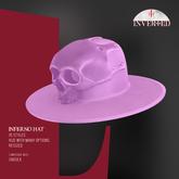 +INVERTED+ Inferno Hat -Lavender-