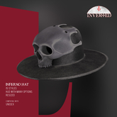 +INVERTED+ Inferno Hat -Gray-