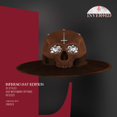 +INVERTED+ Inferno Hat EDITION -Brown-