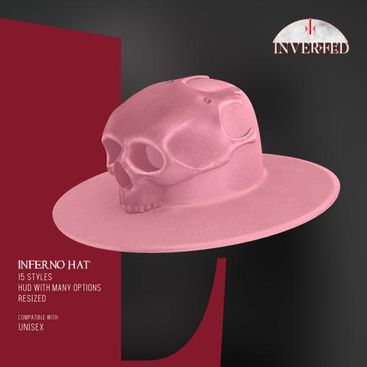 +INVERTED+ Inferno Hat -Pink-