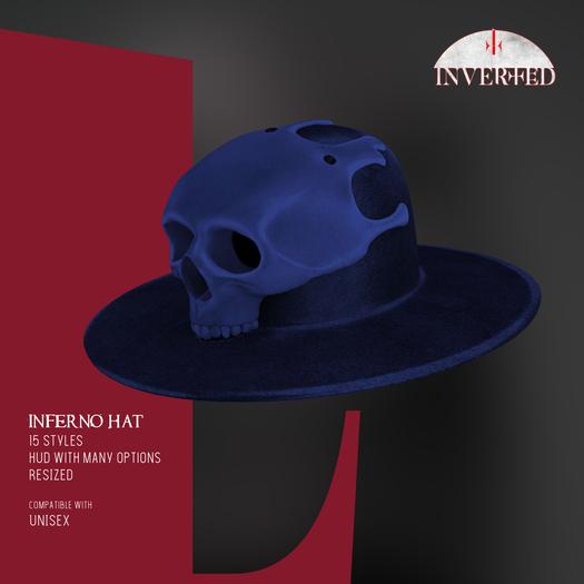 +INVERTED+ Inferno Hat -Navy-