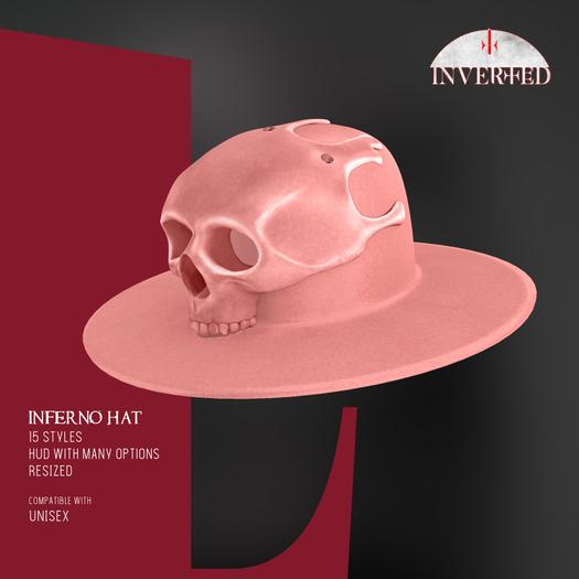 +INVERTED+ Inferno Hat -Peach-