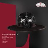+INVERTED+ Inferno Hat EDITION -Black-
