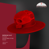 +INVERTED+ Inferno Hat -Red-
