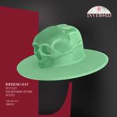 +INVERTED+ Inferno Hat -Pistacho-