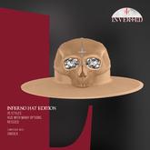 +INVERTED+ Inferno Hat EDITION -Beige-
