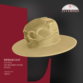 +INVERTED+ Inferno Hat -Yellow-