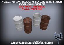 ~Full perm sculpted oil barrels + Maps!