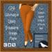 GPA Women's Trousers Linen - Orange Maple (ADD & touch)