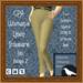 GPA Women's Trousers Linen - Tan Beige Z (ADD to unpack)